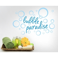 Wandtattoo bubble paradise